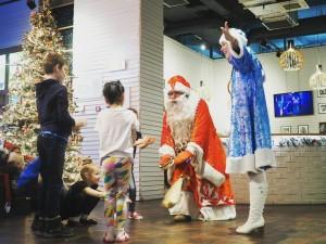 Ресторан Пеперони Дед Мороз и Снегурочка Новогодняя программа